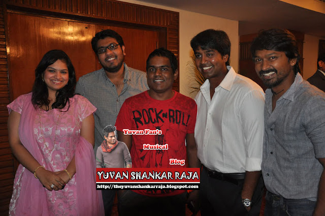 Yuvan Shankar Raja in MR Radha Death Anniversary