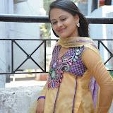 Usha Photos in Salwar Kameez at Gundello Guchi Guchi Champake Movie Press Meet 17