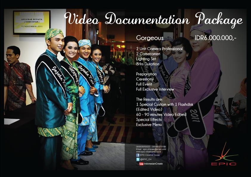 Price List Photos & Video Documentation