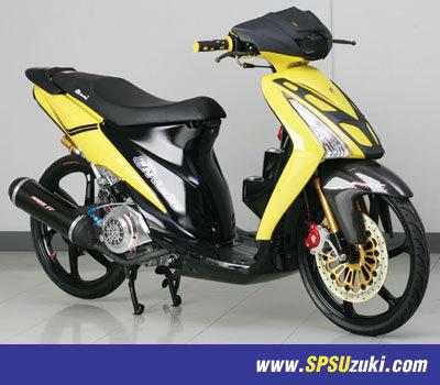 Modifikasi Suzuki Nex