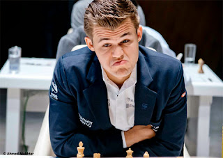 Echecs : Magnus Carlsen au Mémorial Vugar Gashimov - Photo site officiel