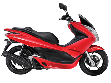 HONDA 150 PCX RED