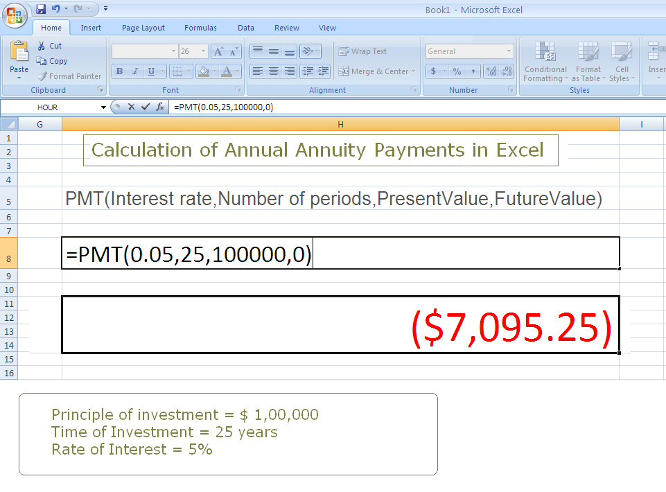 m a audits  u0026 academi  steps to calculate annuity payments