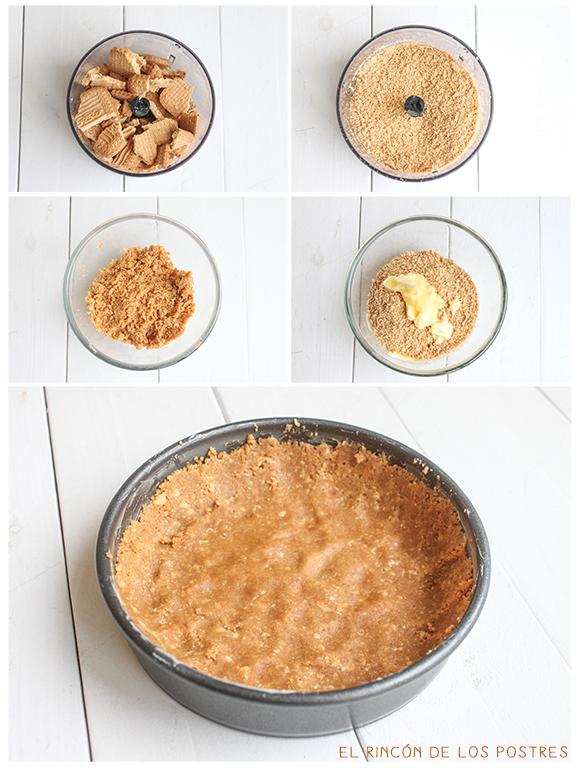 Cheesecake arándanos