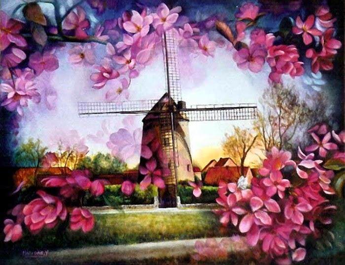 Школа фламандской живописи. Yvette Matysiak