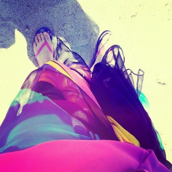 gambar kaki yuna