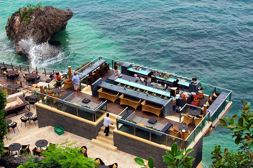 Rock Bar Bali Now Become More Popular Because Of Itu0027s Unique Place To Enjoy  A Party With Some Cocktails Or Bottles Off Beer. Rock Bar Built On Top Of  The ...