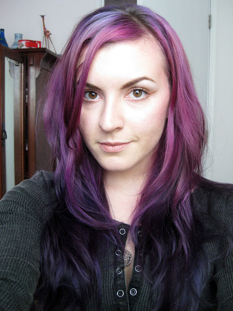 grape hair color