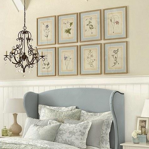 eye for design decorating with botanical prints