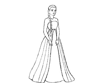 #7 Disney Frozen Coloring Page