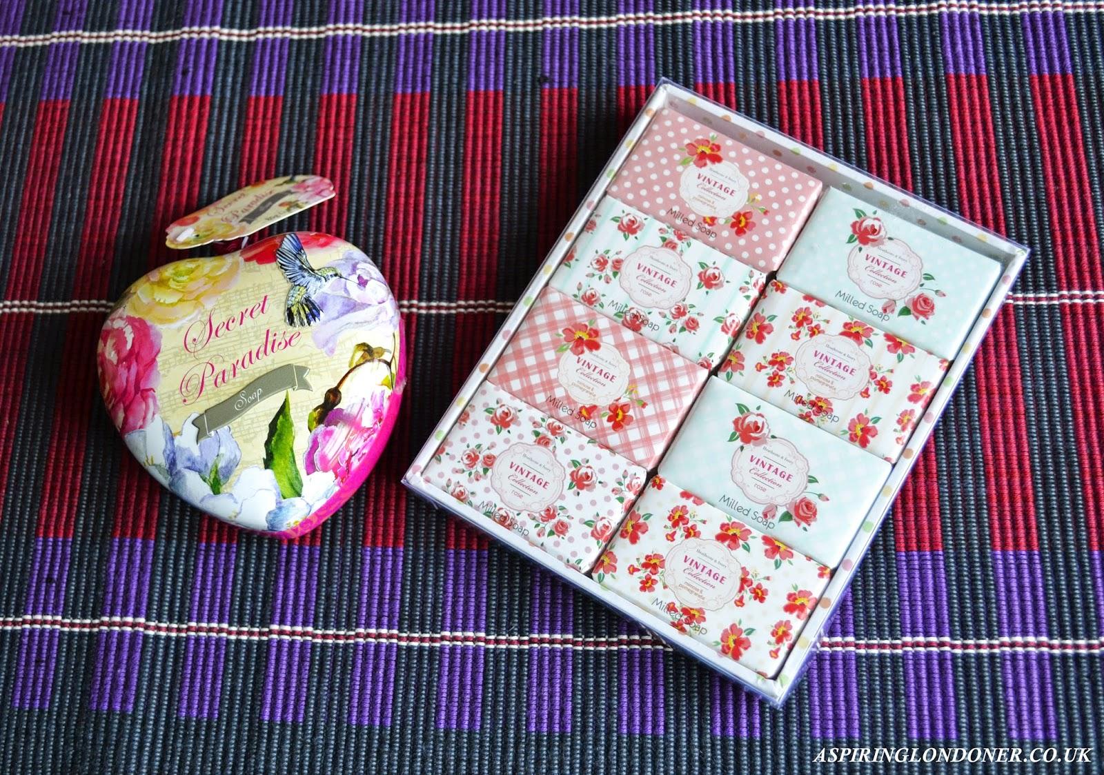 Heathcote & Ivory Secret Paradise Soap Gift Products - Aspiring Londoner