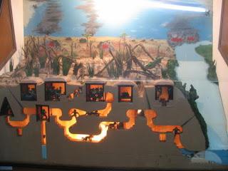 Cu Chi Tunnel map