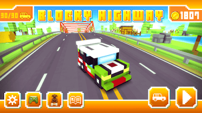 downlaod blocky highway mod apk