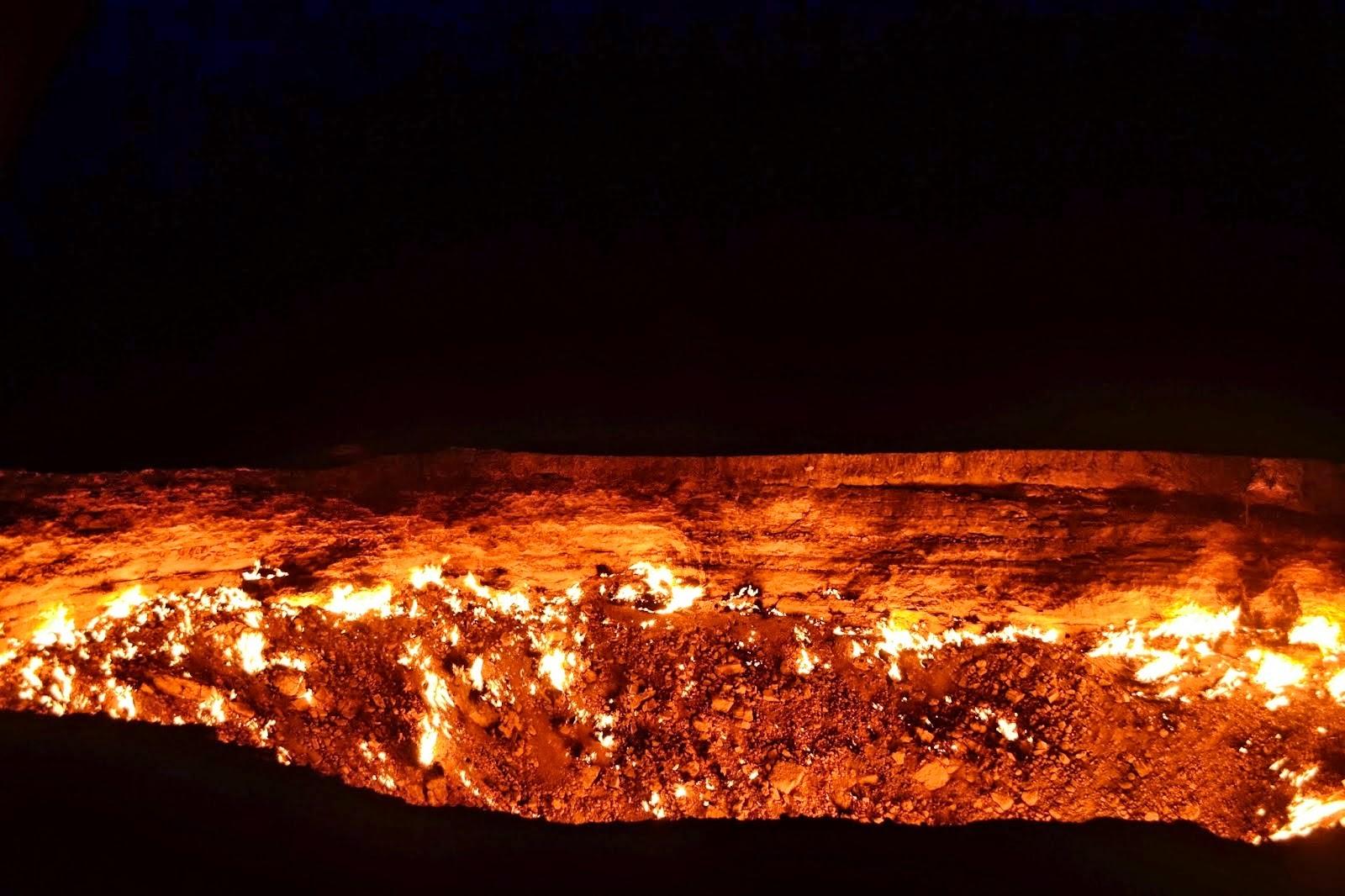 Inferno Em Chamas Best a porta do inferno é no turcomenistão desde 1971 em chamas