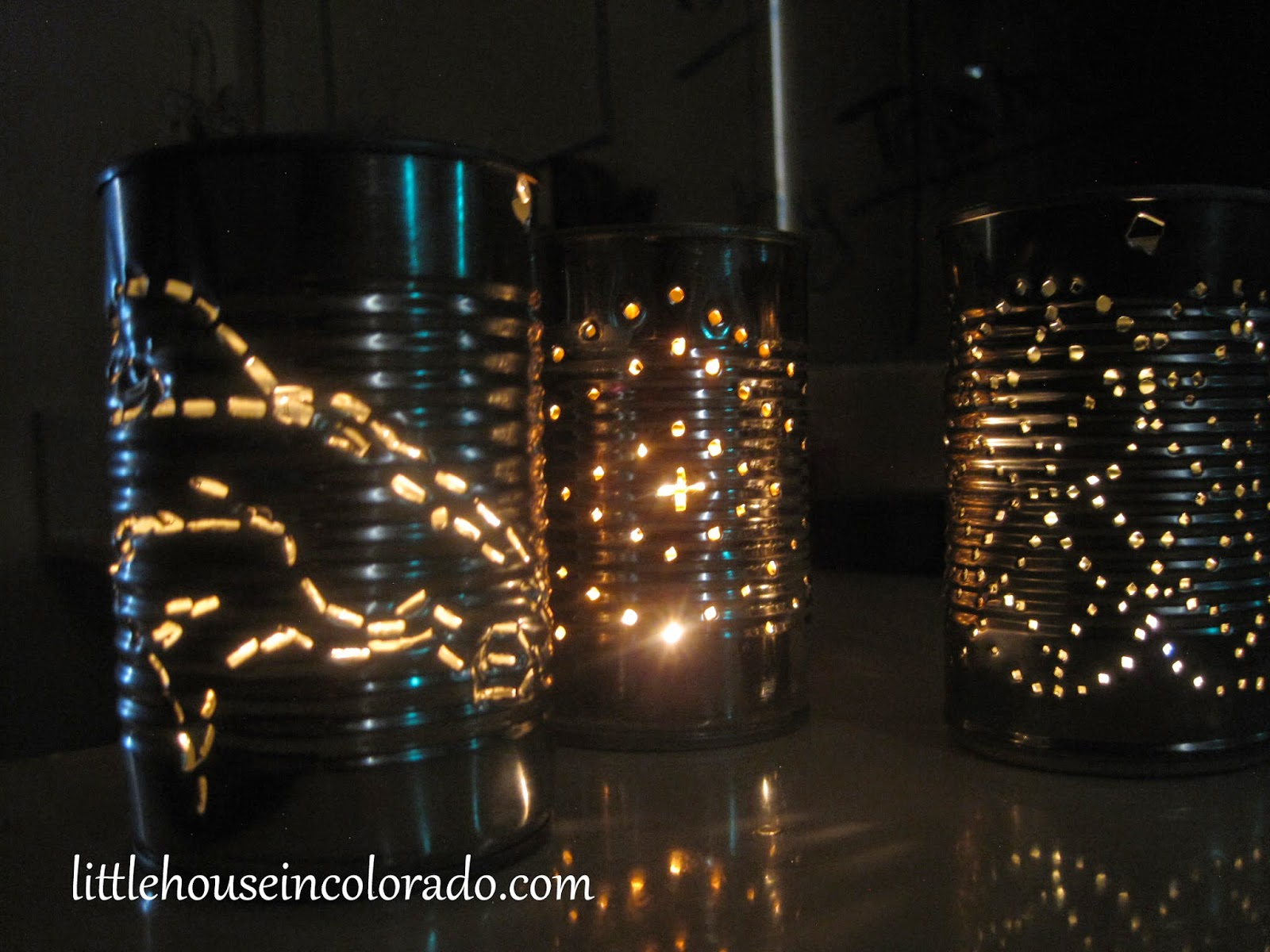 How to make tin can lanterns - Diy Tin Can Lanterns