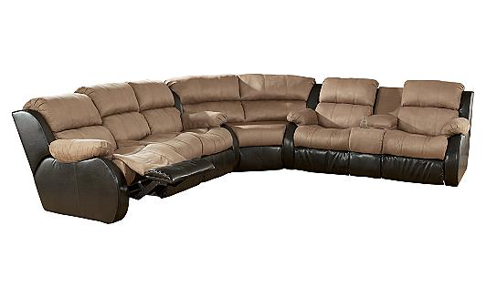 Ashley Furniture Homestore Presley Cocoa Sectional