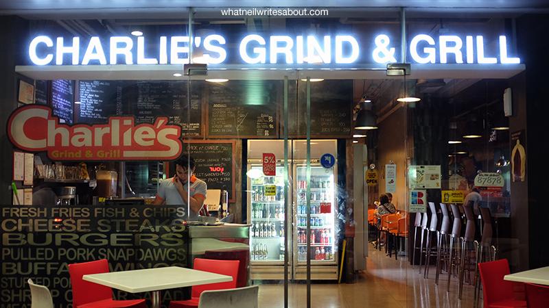 Charlie's Grind & Grill San Juan Metro Manila Burger, Facade Review