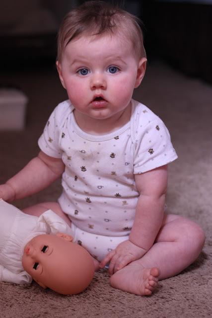 Blue Eyes Baby Doll