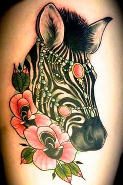 Amazing Zebra Tattoos
