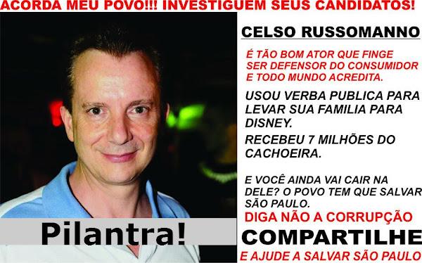 Celso Russomano levou família à Disney com dinheiro público