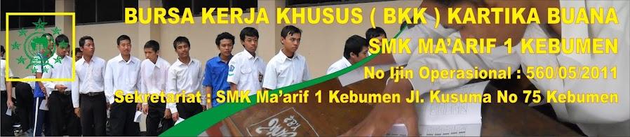 BKK SMK MA'ARIF 1 KEBUMEN