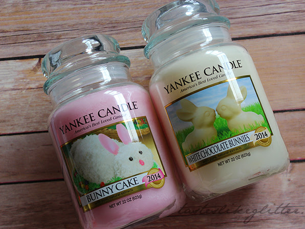 Yankee Candle Easter 2014.