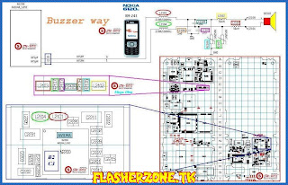 Nokia 6120 buzzer jumper diagram hardware problem solution