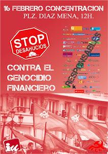 Concentración contra el Genocidio Financiero en Arriate