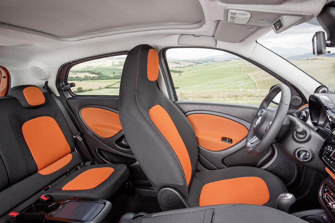 Smart Forfour interior