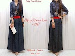 Gamis Denim + Obi SOLD OUT