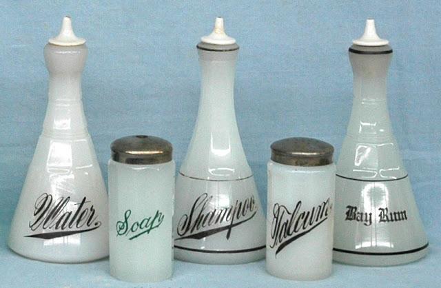 Antique Barber Bottles5