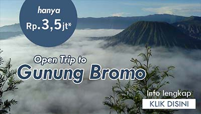 Yuk Gabung Open Trip ke Gunung Bromo