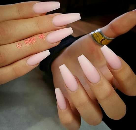 Calendarlabs June : Baby pink shades for all nail shapes omg love beauty