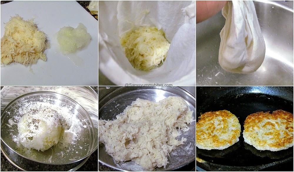 Bavarain Potato Pancake /  Kartoffelpuffer