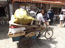 A tricycle.
