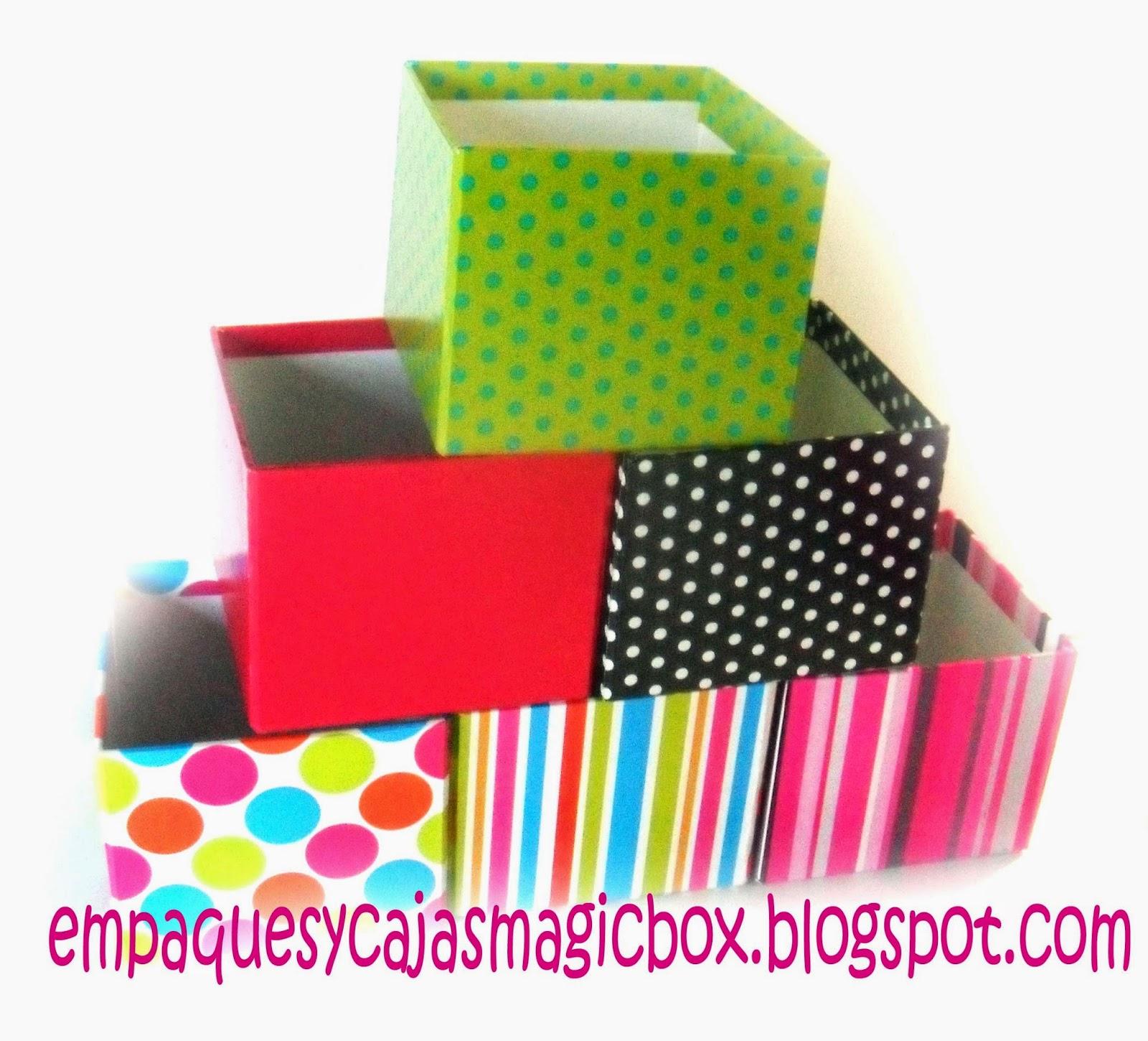 Empaques y cajas decorativas magicbox - Cajas decorativas para almacenar ...