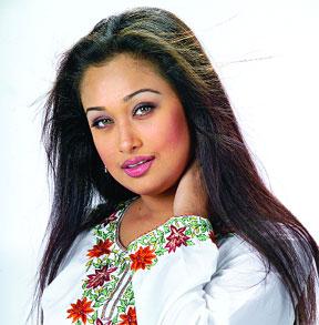 Bangladeshi ctress Romana