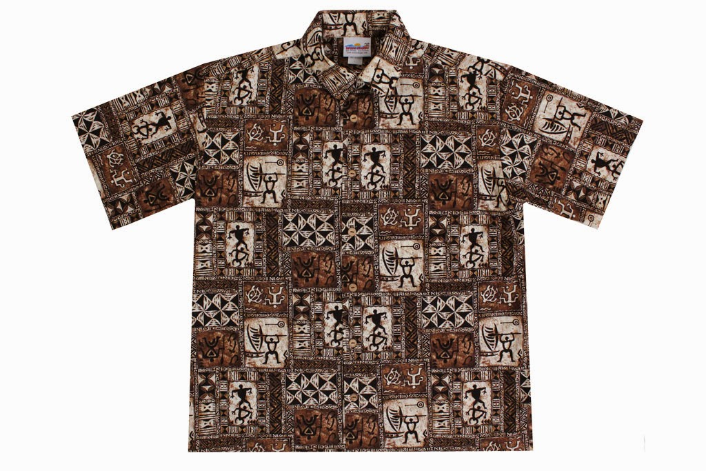 RJC Men Ti Foliage Reverse Shirt