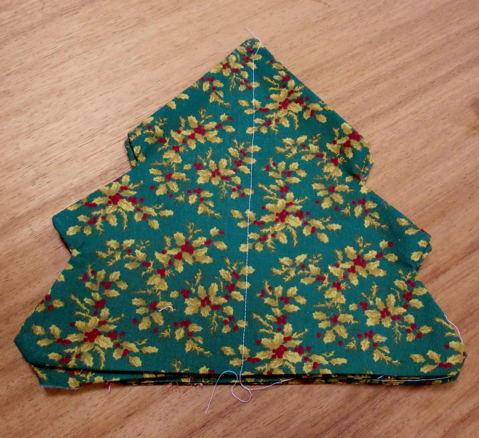 Patchblog de silvia un rbol de navidad - Arboles de navidad de tela ...