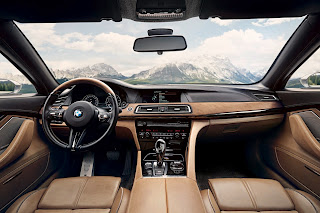 BMW Gran Lusso Coupè Pininfarina interni