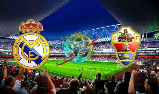 Prediksi Real Madrid vs Elche 24 September 2014