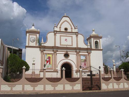 Iglesia de Perquín en Morazán