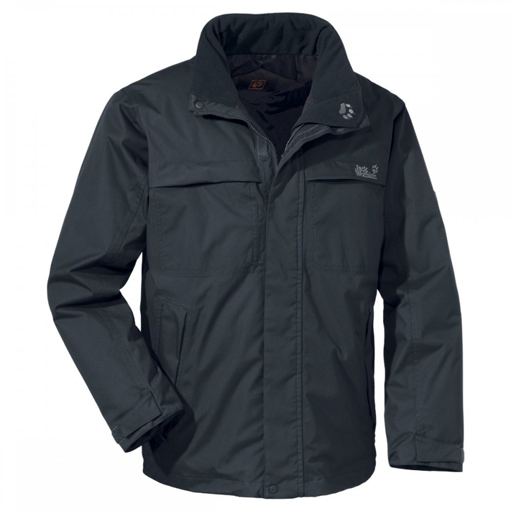JACK WOLFSKIN North Country Men's Jacket, Green, L review ...