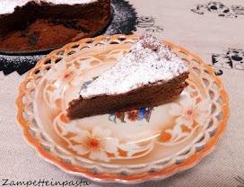 della Torta tenerina con cioccolato al latte