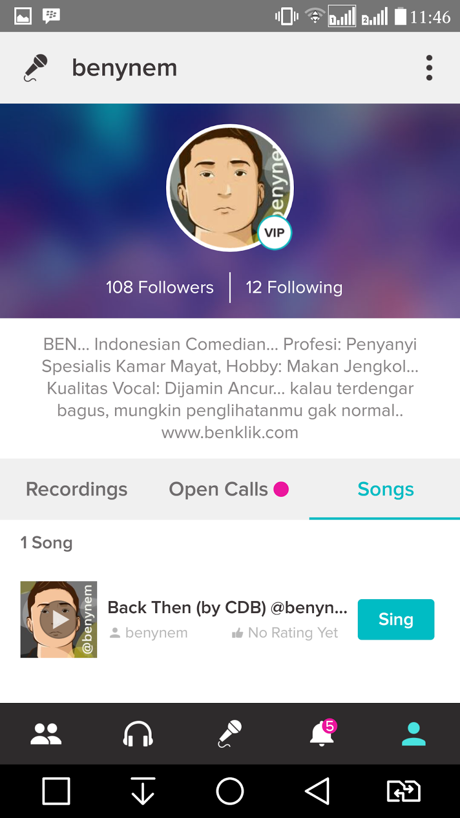 how to delete songs smule sing