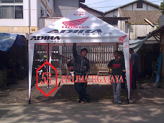 jual tenda promosi murah bandung , tenda jualan , tenda cafe , tenda gazebo , tenda flexi