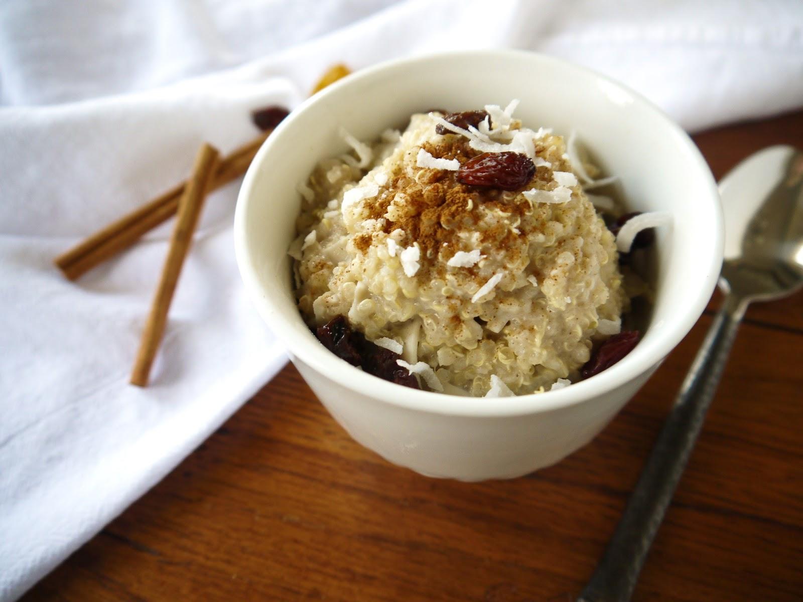 Eighty Twenty: 80(ish)--- Coconut Quinoa Pudding