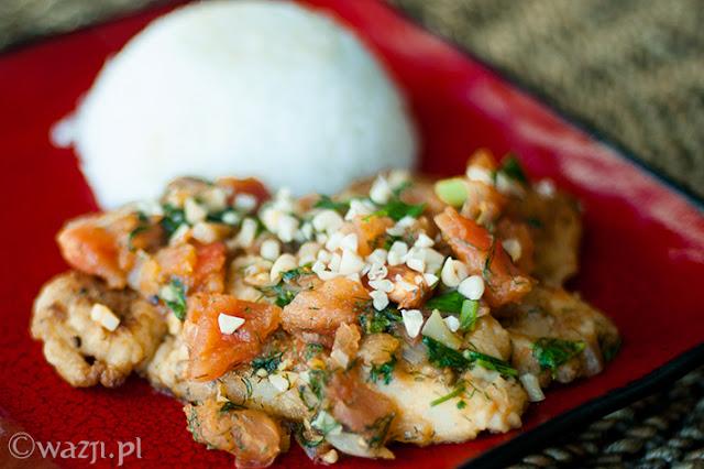 Smażona ryba z pomidorami i koperkiem - przepis Ani i Krzyśka