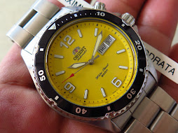ORIENT YELLOW MAKO - ORIENT CEM65001Y - AUTOMATIC - VERY RARE