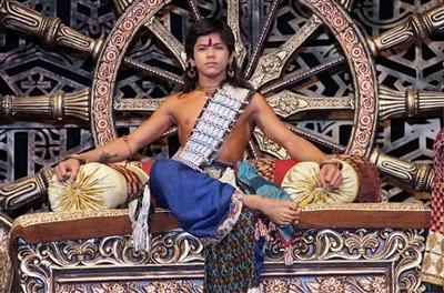 foto profil Siddharth Nigam pemeran ashoka muda